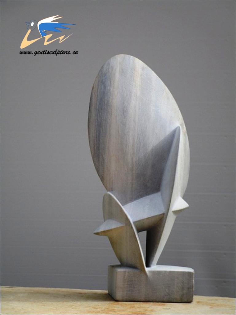 Fragile, stone h 42 cm. 2016