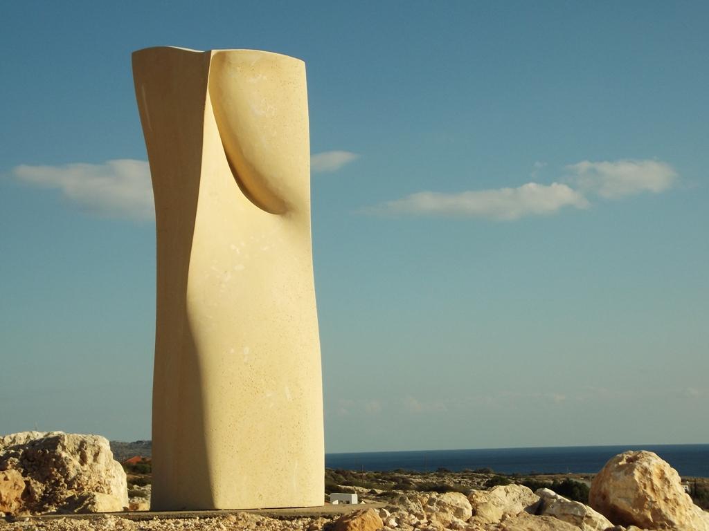 Pasithea, H 215 cm, limestone, Cyprus